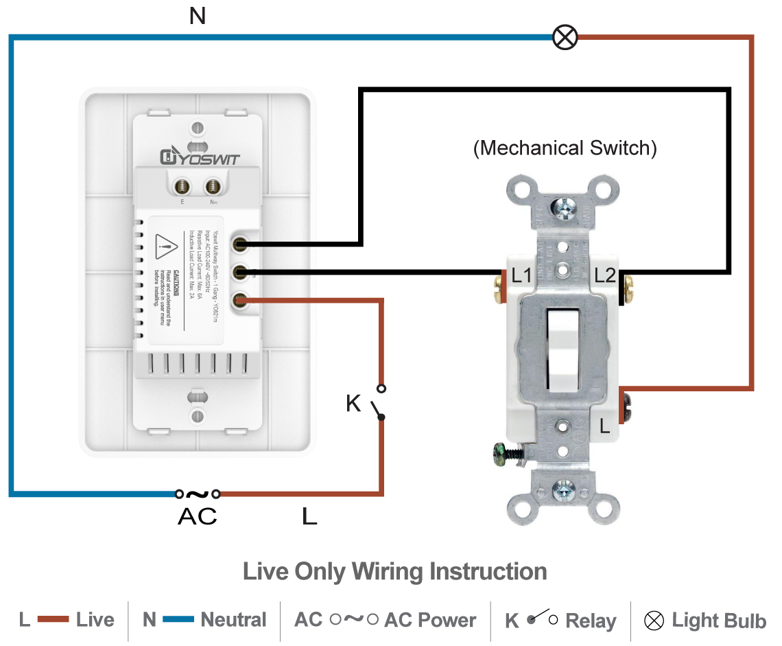 How To Wire A 3 Way Switch Together With Light Switch Outlet Wiring
